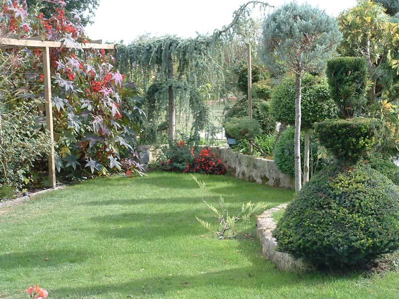 Le jardin anglais for Le nouveau jardin anglais